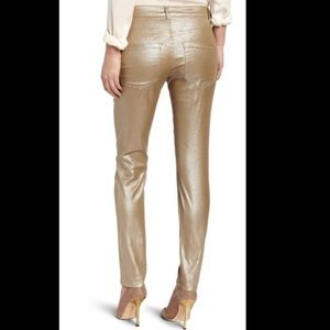 Liverpool gold metallic shimmer Jeans size 4